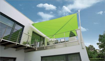 Sonnensegel auf Dachterasse