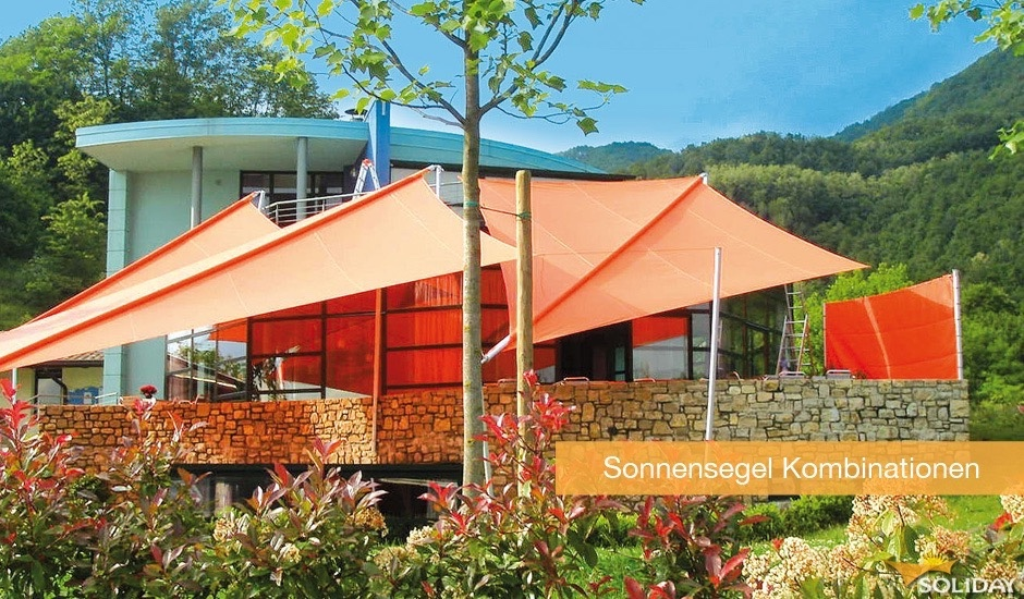Sonnensegel-Kombinationen